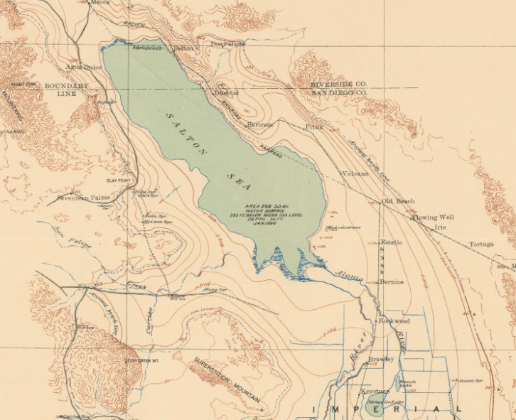 On Keeping the Salton Sea Afloat Under Construction